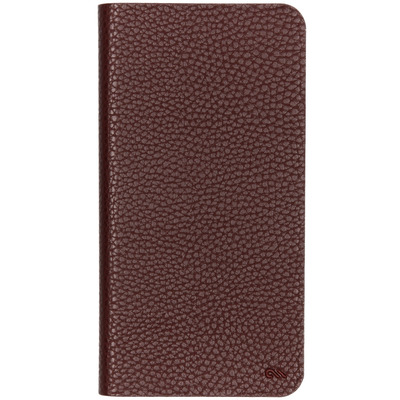 Barely There Booktype iPhone Xs Max - Bruin - Bruin / Brown Mobile phone case