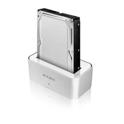Icy box behuizing: IB-111STUS2-WH - Wit