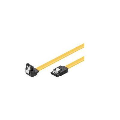 Wentronic ATA kabel: 0.50m HDD SATA - Geel