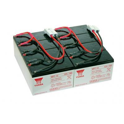 2-power UPS batterij: UPL0751A - Groen,Grijs