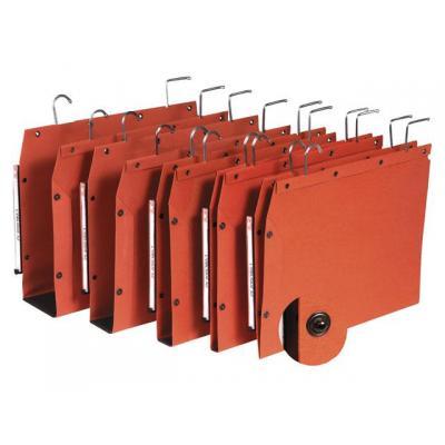 L-oblique hangmap: Hangmap TUB 350/250 30mm oranje/ds 25