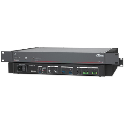 Extron XPA 2002-100V Audio versterker - Zwart