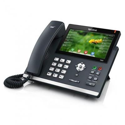 Yealink ip telefoon: SIP-T48G - Zwart