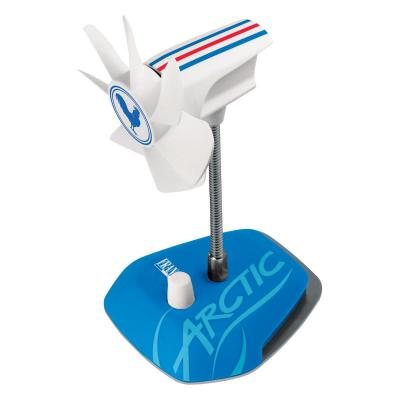 Arctic : Breeze Country (France) - USB Table Fan - Blauw, Wit