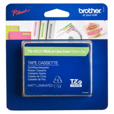 Brother TZE-MQG35 labelprinter tape