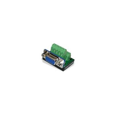 Intronics D-sub connector schroefcontacten, paneelmontage Kabel adapter