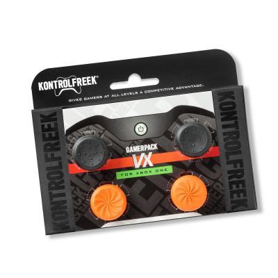 Kontrolfreek : GamerPack Gamerpack VX Xbox One action grips - Zwart, Oranje