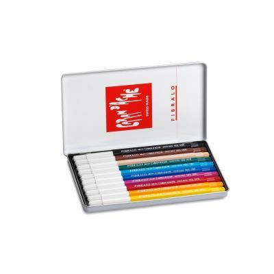 Caran d-ache viltstift: FIBRALO - Multi kleuren