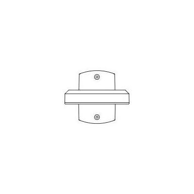 Pelco Wall mount bracket, light duty, indoor, RAL 9003 Beveiligingscamera bevestiging & behuizing - Wit