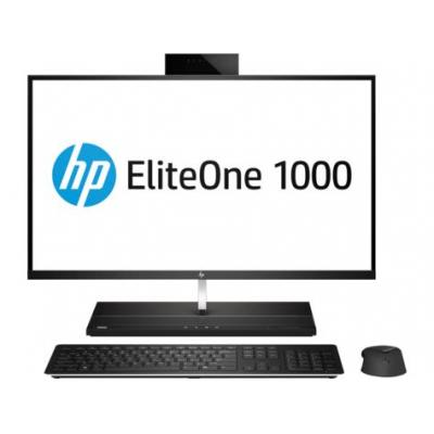 Hp all-in-one pc: EliteOne 1000 G1 - Zwart, Zilver