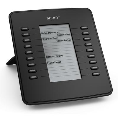 Snom D7 IP add-on module - Zwart