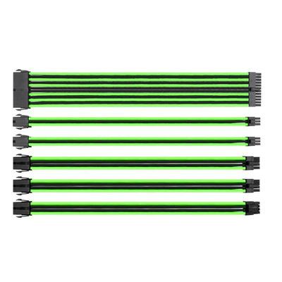 Thermaltake AC-046-CN1NAN-A1 Kabel - Zwart, Groen