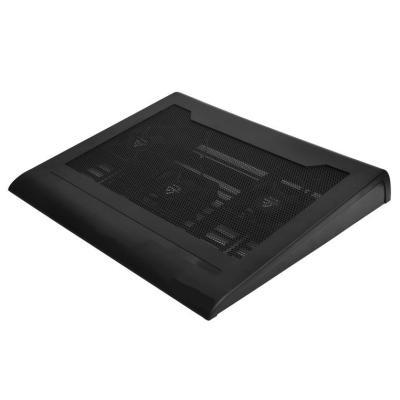 Ewent notebook koelingskussen: Notebookstandaard met koeling en USB HUB Eenh. 1 stk - Zwart