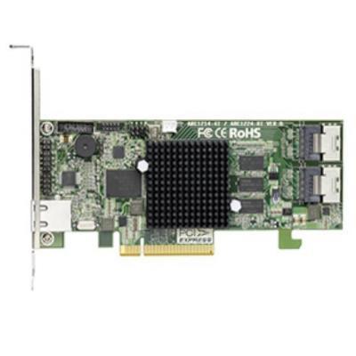Areca raid controller: 2xSFF-8087, 8 x 6Gb/s SATA HDDs/SSD, 1 GB SDRAM ECC