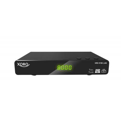 Xoro ontvanger: HRS 9198 LAN - Zwart