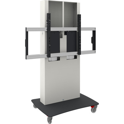 SmartMetals VESA, 1200 x 600 mm, 1400 - 1900mm, 20 mm/s, 180 kg, 145 kg, Wit, Zwart Monitorarm - Zwart, Wit