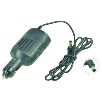 2-power netvoeding: DC Car Adapter 19.5V 2.A 40W - Zwart
