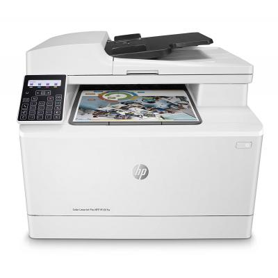 Hp multifunctional: Color LaserJet Pro Color LaserJet Pro MFP M181fw - Zwart, Cyaan, Magenta, Geel
