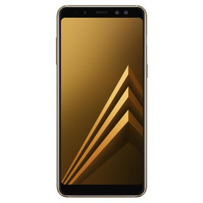 Samsung smartphone: Galaxy A8 (2018) - Goud