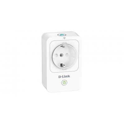 D-link stekker-adapter: Wi-Fi Home SmartPlug - Wit