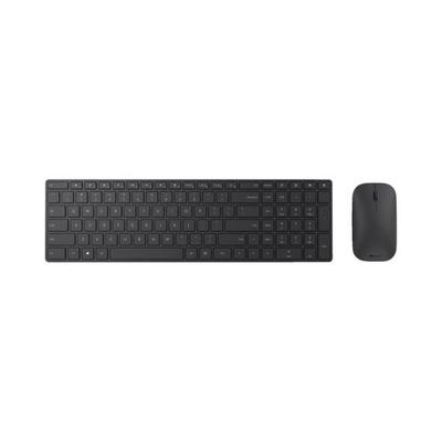 Microsoft Designer Bluetooth Desktop - QWERTZ toetsenbord - Zwart