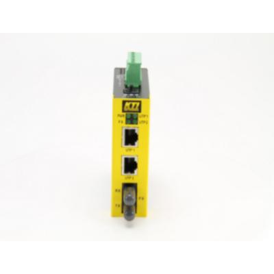 KTI Networks KSD-103-A-SL2 Switch - Zwart, Geel