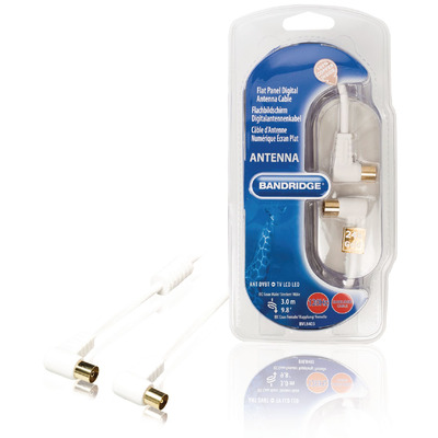 Bandridge BVL8403 Coax kabel - Wit