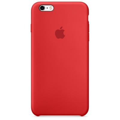 Apple mobile phone case: Siliconenhoesje voor iPhone 6s - Rood