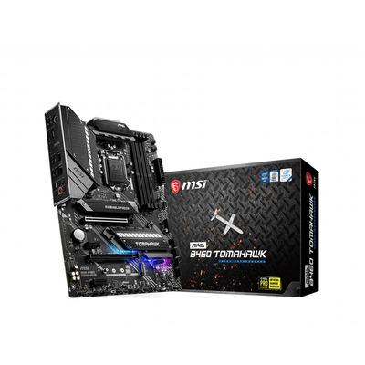 MSI LGA 1200, Intel B460 Chipset, 4 x DDR4-SDRAM up to 128GB, LAN, 2 x RJ-45, 6 x SATA III, 2 x M.2(M), UEFI AMI, .....
