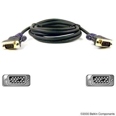 Belkin VGA kabel : Gold Series VGA Monitor Signal Replacement Cable 3m - Zwart