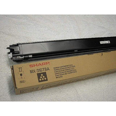 Sharp 18.000pages black Toner - Zwart