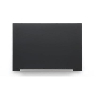 Nobo whiteboard: Diamond Glasbord (677x381) zwart, magnetisch
