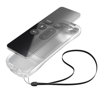Hama : Protective Silicone Cover for Apple TV 4 Siri Remote, transparent - Transparant