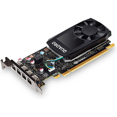 HP NVIDIA Quadro P620 2GB Videokaart - Zwart