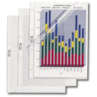 Rexel showtas: Showtas A4 Mat Transparant 95 Micron (100)