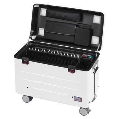 Parat Case i16 Charge & sync, wit, Smartcase fit Opbergdozen voor hulpmiddelen