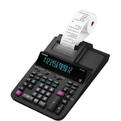 Casio CS-FR-620RE, AC, 3.5 Lines/Sec, 58 mm, 1400 g, 111x205x377 mm, Black Calculator - Zwart