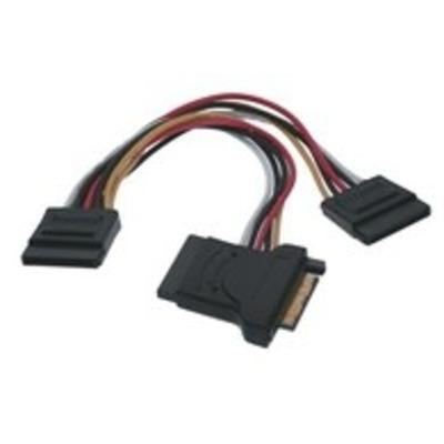 Microconnect 15M-15F+2x15F 0.5m