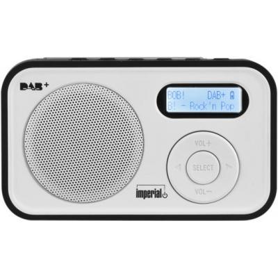 Digitalbox radio: Dabman 12 - Zwart, Wit