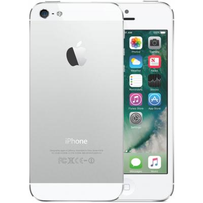 2nd by renewd smartphone: iPhone 5 - Zilver, Wit 32GB (Refurbished ZG)