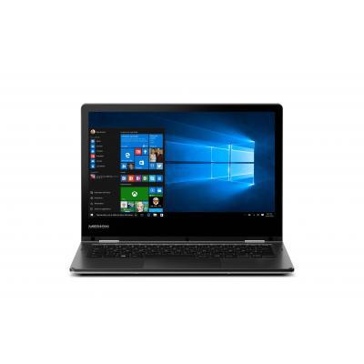 Medion laptop: AKOYA E2225T - Zwart, Zilver