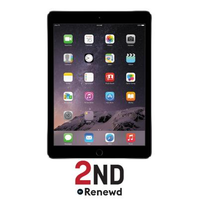 2nd by renewd tablet: Apple iPad Air 2 WiFi refurbished door 2ND - 32GB Spacegrijs (Refurbished ZG)