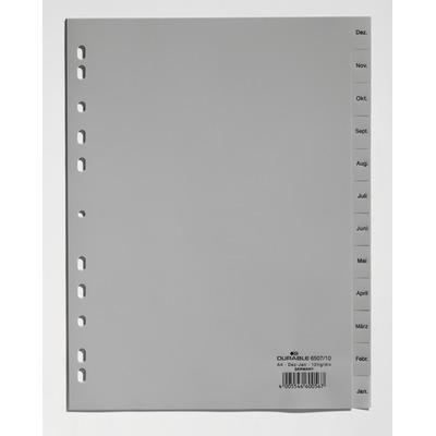 Durable 6507-10 Indextab - Grijs