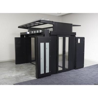 APC Aisle Simple Roof Panel 600mm Rack toebehoren - Zwart