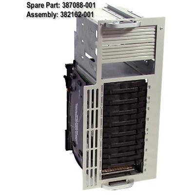 HP SP/CQ Cage LVD 9 Drvs PL 3000,5500,6500 Drive bay - Wit