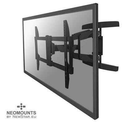 """Newstar montagehaak: De NM-W475BLACK is een wandsteun met 3 draaipunten voor flat screens t/m 190.5 cm (75"""") (191 cm) - ....."""