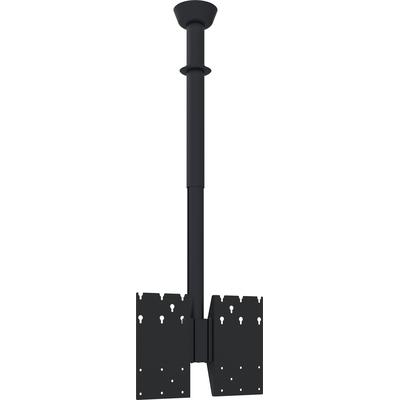 SmartMetals Plafondbeugel ZWART tot max 1500mm incl. bracket VESA 600-400 TV standaard
