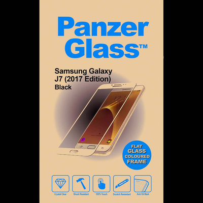 PanzerGlass Samsung Galaxy J7 2017 Edge-to-Edge Screen protector - Transparant