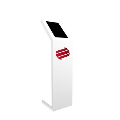 Dekker Industrial Design D.I.D ProDVX 23.5 inch Kiosk (portrait) TV standaard - Wit