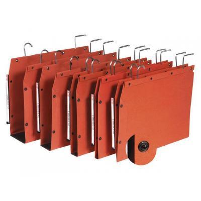 L-oblique hangmap: Hangmap TUB 350/250 15mm oranje/ds 25